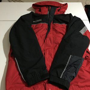 Columbia Core Interchange Mens Ski Jacket Large